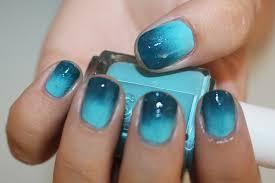 diy ombre nail art using essie nail polish nail tutorial youtube