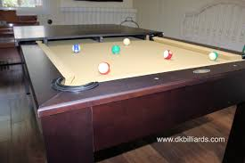 Combination Pool Table Dining Room Table by Sleek Dining Pool Table Combo U2013 Dk Billiards Pool Table Sales
