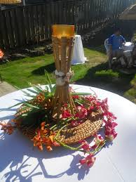 Anniversary Table Centerpieces by Tiki Torch Centerpieces Luau Themed Party Pinterest Tiki