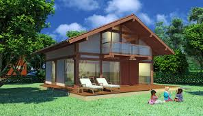 wood houses laminated wood post and beam type house