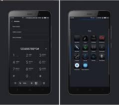 download themes xiaomi redmi 2 this new ios black miui 8 theme looks stunning themes mi