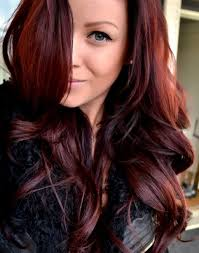 red hair color for dark brown hair 17 best images about hair dye
