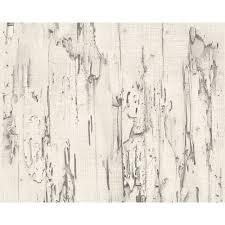 as creation distressed beech wood bark faux effect wallpaper 954022