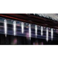 led icicle lights cool white dripping icicle lights