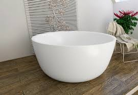 aquatica purescape 720m round freestanding solid surface bathtub