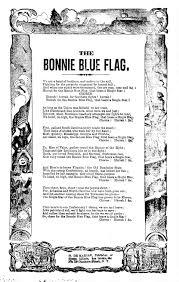 Bonny Blue Flag The Bonnie Blue Flag H De Marsan Publisher No 54 Chatham