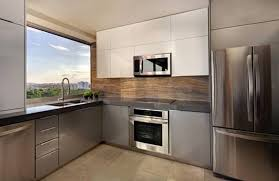 modern kitchen furniture and refrigerator awesome kitchen furniture and refrigerator with beige walls tile floor stove