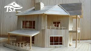 how to make a wooden model house 2016 youtube