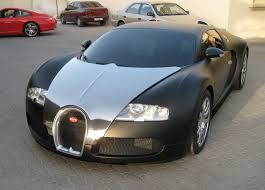 bugatti veyron black matte and chrome foilacar