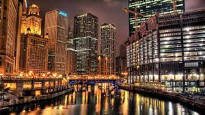 chicago at night hd wallpaper hd latest wallpapers