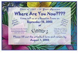 Family Reunion Invitation Cards Past Reunions