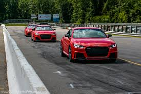 2018 audi tt rs u0026 audi rs 3 audi sport experience at lime rock