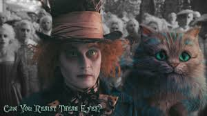 movies alice in wonderland cat johnny depp mad hatter
