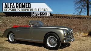 Alfa Romeo 6c Price Alfa Romeo 6c 2500 Ss Convertible 1949 Modest Test Drive