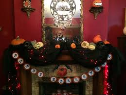 victorian gothic halloween a home tour today the front fall2014mantle fall2014diningroom