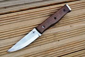 custom handmade hunting u0026 bushcraft knife stunning micarta handle