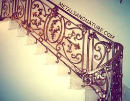 Wrought Iron Stair by Staircases U0026 Stair Railings Of Handmade Wrought Iron Metals U0026 Nature