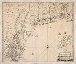 Map Of New England Coast by One Of The Finest 17th Century Maps Of The English Empire In