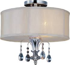 Semi Flush Mount Maxim Lighting 24301clbspn Montgomery Contemporary Semi Flush