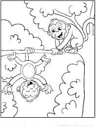 printable coloring pages monkeys printable coloring pages monkey quest monkeys spider pictures of