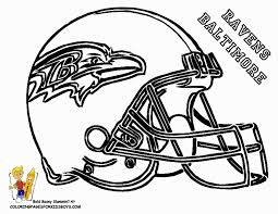 baltimore ravens football helmet coloring pages for boys 203353