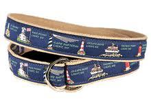 Nautical Themed Ribbon - nautical themed ribbon belts sailboat ribbon belt made in the usa