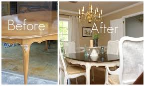 Painted Dining Room Furniture Ideas Painted Dining Room Table Ideas Painting Dining Room Table