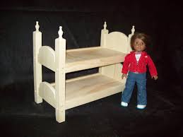 18 Inch Doll Bunk Bed Hand Crafted 18 Inch Doll Bunk Bed By Pine Grove Woodshop Loversiq