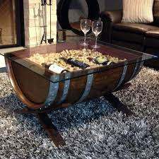 Wine Barrel Home Decor Easylovely Wine Barrel Coffee Table In Stunning Home Decor Ideas