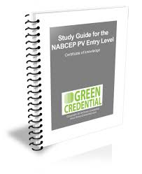 nabcep entry level study guide green credential
