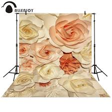 photography backdrop paper aliexpress buy allenjoy photography backdrop paper flower