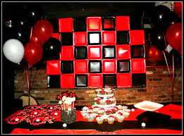 Black And Red Party Decorations Red Black Party Decorations Best Decoration Ideas For You