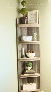 furniture elegant white corner bookshelf with desk and interior
