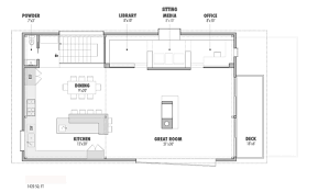 house plans with media room modern style house plan 4 beds 3 50 baths 3230 sq ft plan 469 1