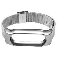 metal bracelet images Metal replacement screwless automatic buckle watchband smart watch webp