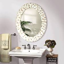 bathroom mirrors pier one oval mosaic tile hvacdaviefl site