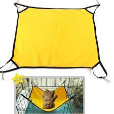 polar fleece pet hammock bed for dog cat kitten ferrets guinea