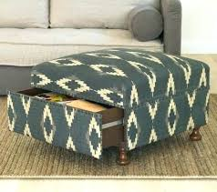 Storage Ottoman Upholstered Padded Storage Ottoman Coffee Table Storage Ottoman Plant Leather