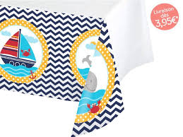 nappe cuisine plastique nappe en plastique ancre marine décor theme mer marin