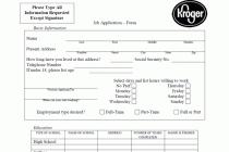 free job applications printable job applications free printable