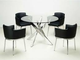 round black dining room table space saver kitchen table space