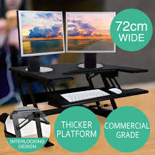 Adjustable Height Standing Desk by Height Adjustable Standing Desk Riser Sit Stand Up Computer