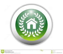 Eco Friendly Home Glossy Eco Friendly Home Icon Stock Photos Image 7534313