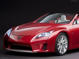 lexus lfa convertible lexus lfa roadster concept car images exotic car wallpaper 09 of