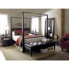 Best  Black Canopy Beds Ideas On Pinterest Black Bedroom - Crate and barrel black bedroom furniture