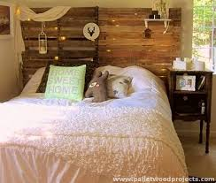diy headboard with lights cozy pallet headboard ideas pallets cozy and wooden pallets