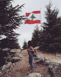 Libanese Flag Where The First Lebanese Flag Was Raised Thx U Assaadchbeir