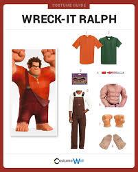 Wreck Ralph Halloween Costumes Dress Wreck Ralph Costume Halloween Cosplay Guides