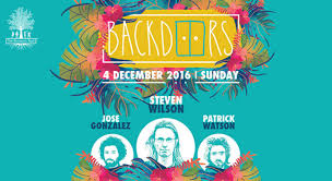 Patrick Watson Adventures In Your Own Backyard Lyrics Book Tickets To Backdoors Ft Steven Wilson Jose Gonzalez And