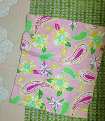 a lilly pulitzer palette for diane u0027s vintage pink tile bathroom